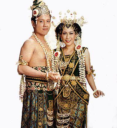 culture  indonesia berbagai baju adat  berbagai