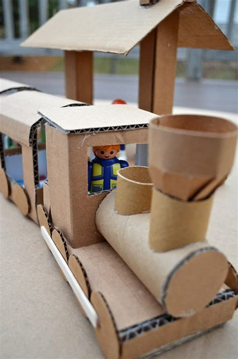15 Cute and Easy DIY Cardboard Toys Ideas your Kids Will