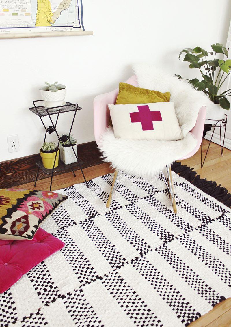 Make your own modern rug