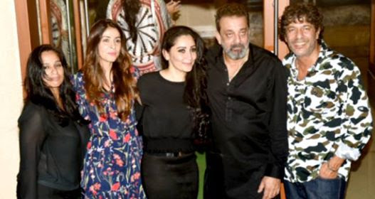 Sanjay Dutt Celebrated His Birthday With Wife And Close Friends At A Grand Party