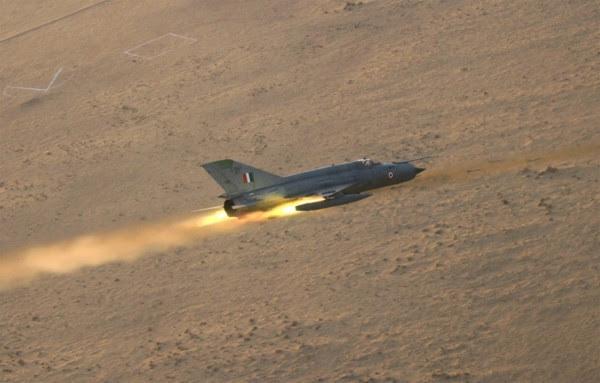 Como era de esperar, pero la IAF ha perdido a otro MiG-21 ...