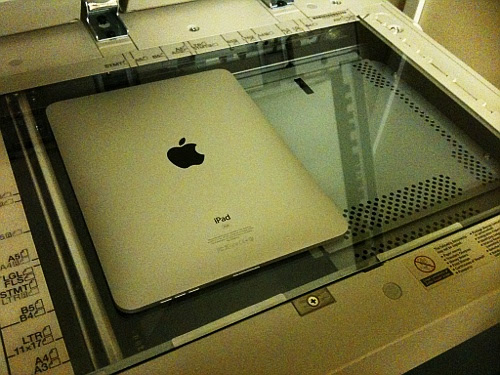 How to print with the iPad