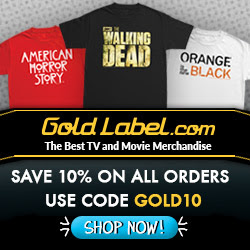 The Best TV and Movie Tees 10% Off