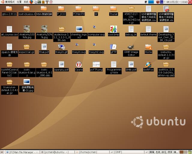 Desktop icon support