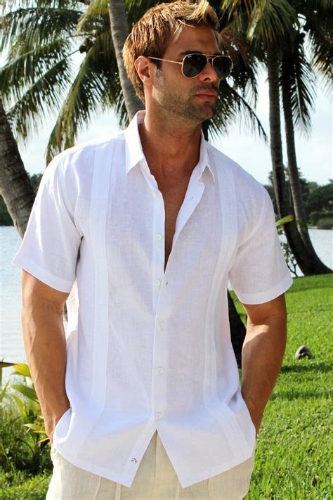 Men?s Linen Shirt, Guayabera shirt, Men?s linen pants, men