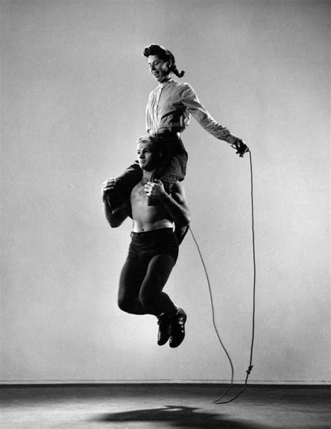 Unusual form of two-person jump rope, 1940 (With images