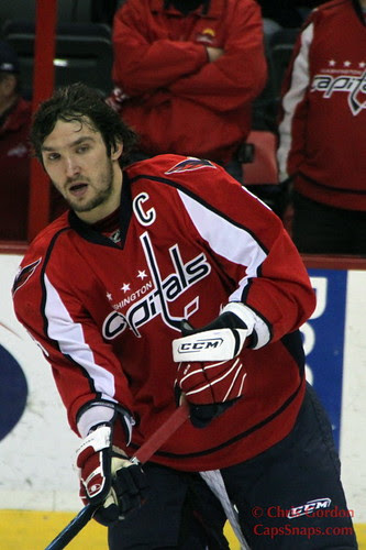 After scoring twice against Rangers, Alex Ovechkin has