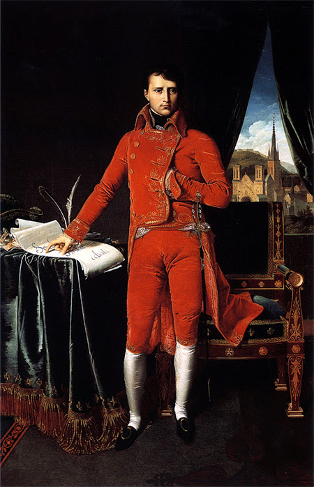 Bonaparte, First Consul, by Ingres