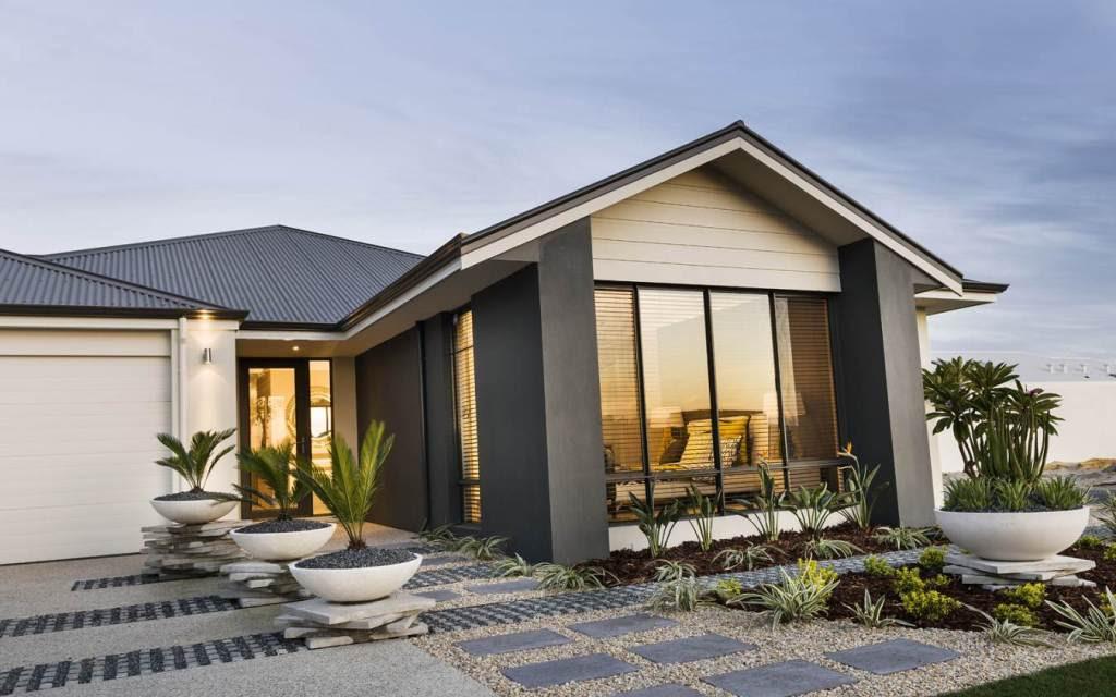 10 Gambar Rumah Mewah Minimalis Satu Lantai Menawan