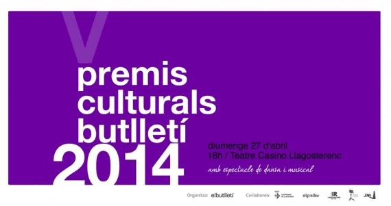 Premis Culturals Butlletí 2014