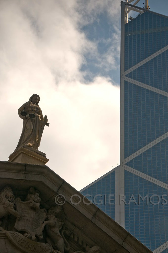 Hong Kong - Central Capitol Statue of Justice