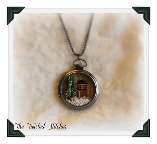 Diane's Pocket Watch Necklace