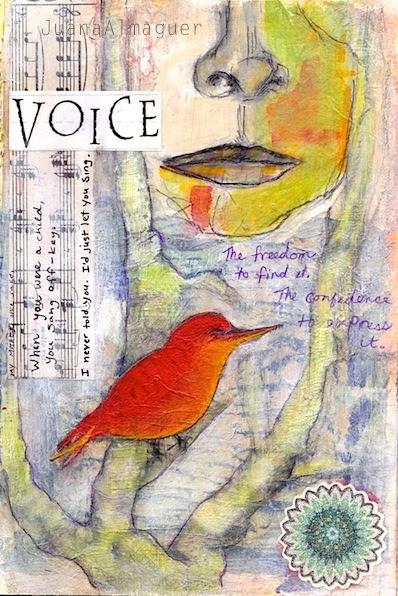 voice art journal 8 Feb 2014