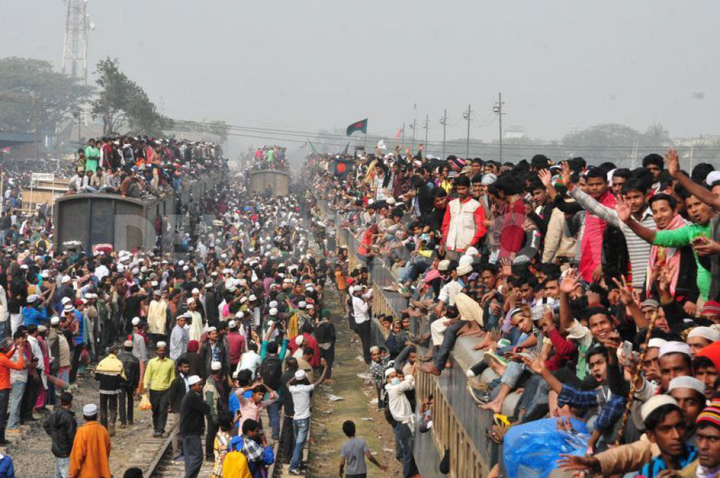 Todos a bordo para Bangladesh - Biswa Ijtema 2014 08