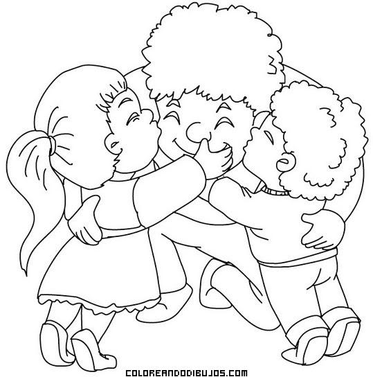 Niños Abrazando Con Mucho Amor A Su Papá