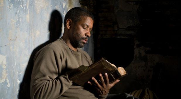 Actor Denzel Washington in 'The Book of Eli.'