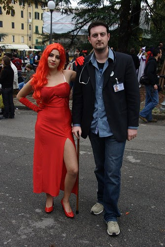 Lucca Comics & Games - 2008 - Jessica Rabbit & Dr. House