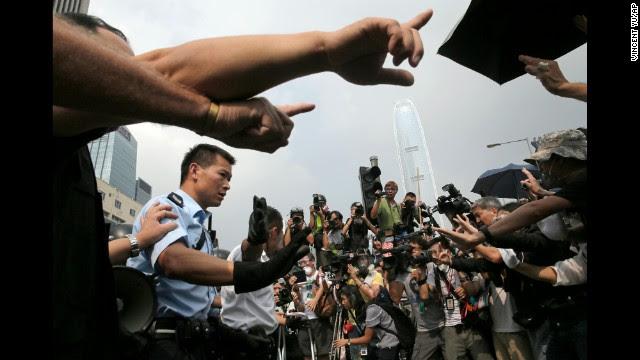 Photos: Hong Kong pro-democracy protests