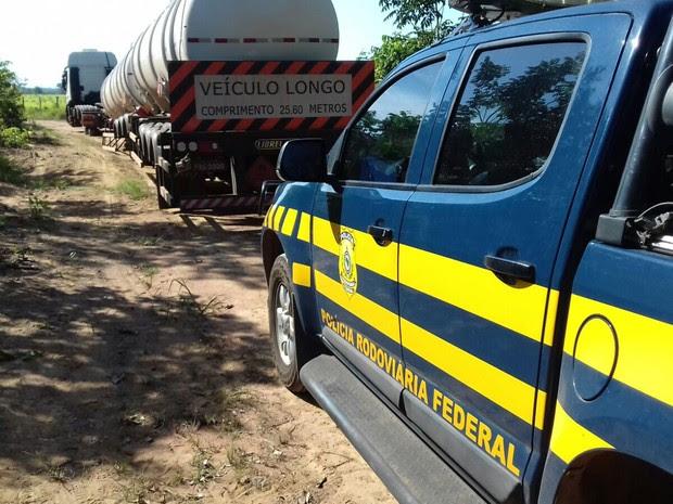 Ocorrência foi atendida pela Polícia Rodoviária Federal (Foto: Divulgação/PRF)