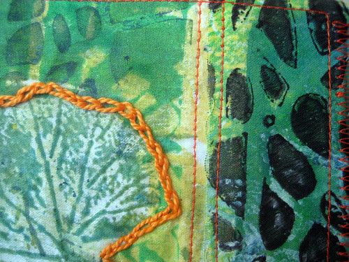 prayer flag 11 ~ gratitude, detail