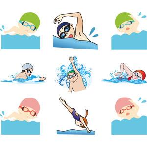 泳ぐ水泳 Gahag 著作権フリー写真イラスト素材集