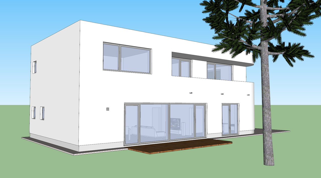 Sketchup Projektowanie Domu