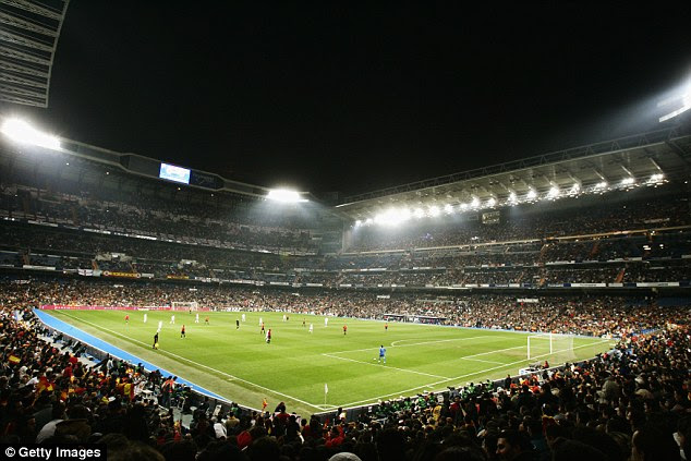 Real Madrid's Santiago Bernabeu stadium is set to be renamed Abu Dhabi Bernabeu