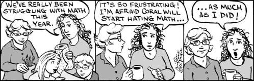 Home Spun comic strip #454