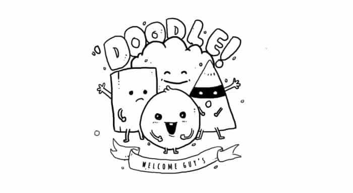 Gambar Doodle Yang Mudah Terkini Banget