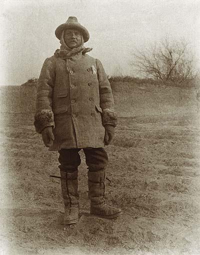 Stein Aurél az első közép-ázsiai expedíción