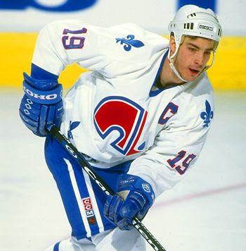 Sakic Nordiques Captain, Sakic Nordiques Captain