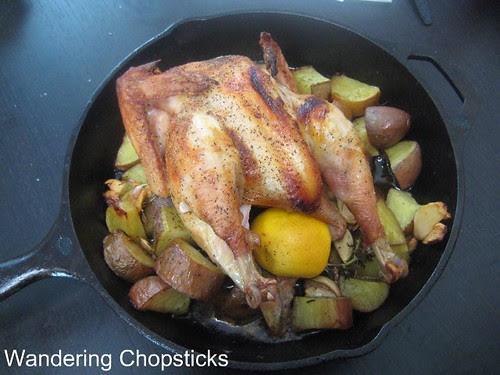 Salt, Pepper, Lemon Basic Baked Organic Chicken 4