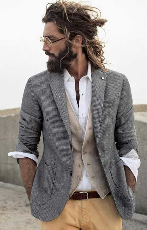 25 new hairstyles for men with long hair  the best mens