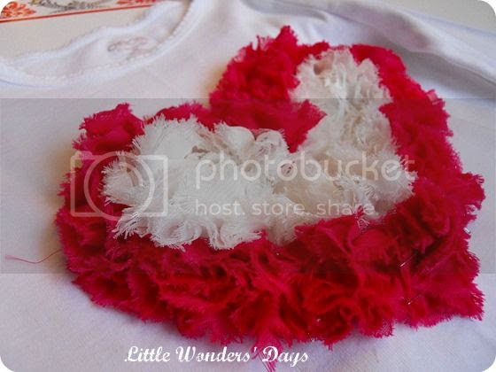 How to make a heart shaped tulle shirt