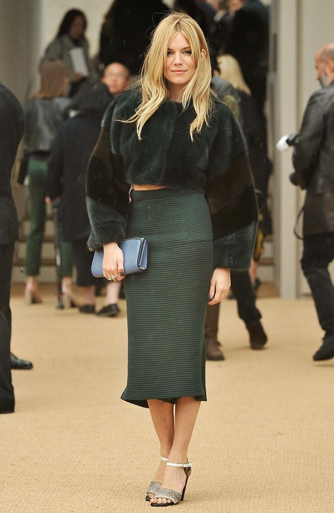 Burberry Prorsum - Arrivals: London Fashion Week SS14