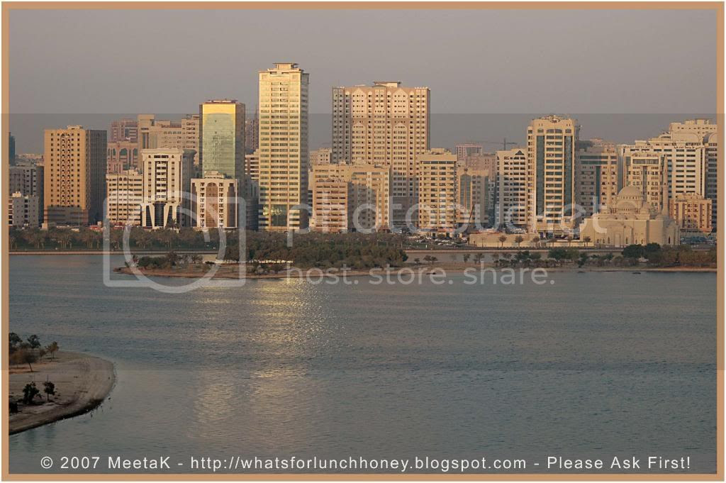 Sharjah Skyline by MeetaK