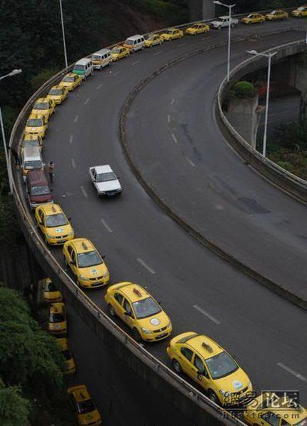 Taxis in China