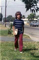 Kid with Comics