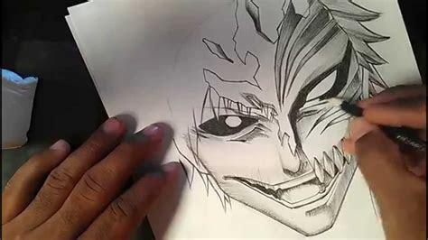 speed drawing manga ichigo kurosaki  bleach youtube