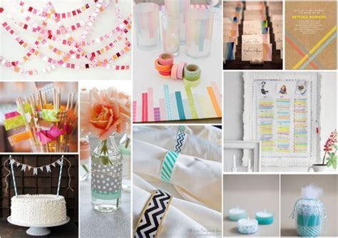Top Ten DIY Washi Tape Wedding Ideas   Confetti.ie