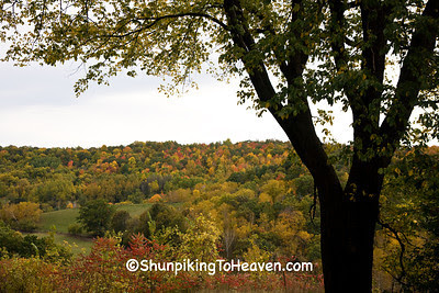 Autumn in the Valley, Monroe County, Wisconsin