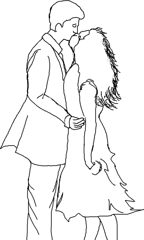 Dibujo De Amor Gatuno Para Colorear Dibujos Net