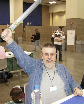 Kurt Has The Sword!