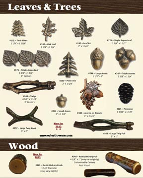 BuckSnort Lodge Cabinet Knobs & Pulls | Eclectic-ware