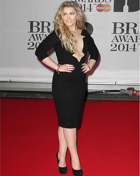 Ella Henderson looked like a new woman as she hit the red ...
