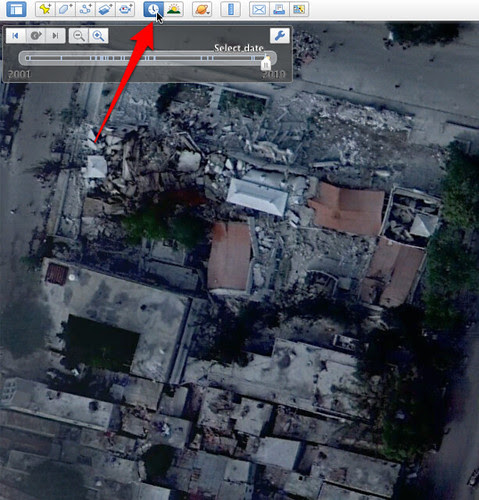 Satellite Images Of Haiti Earthquake From Google Bing Maps