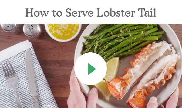 Featured Recidpe: How to Serve Lobster Tail