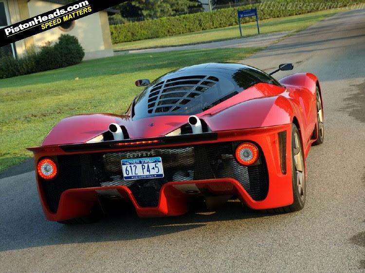 Ferrari Batmóvel p4-5-L