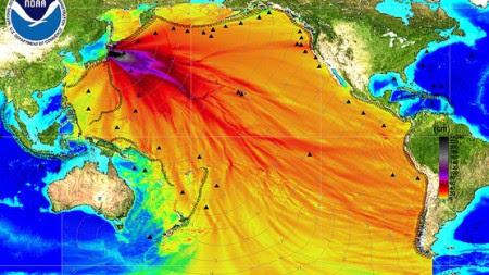 Φουκουσίμα Μόλυνση Ειρηνικό Ωκεανό