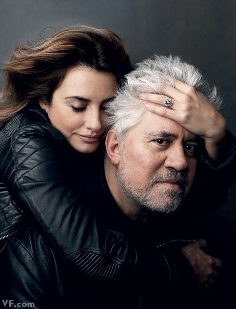 THE ROMANTICS: Pedro Almodóvar with Penélope Cruz Four films together: Live Flesh (1997), All About My Mother (1999), Volver (2006) and Broken Embraces (2009).